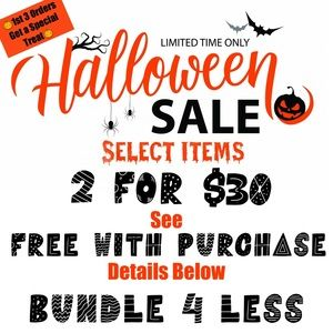 🎃 Halloween Sale 🎃 Includes over 75% of my closet listings!!